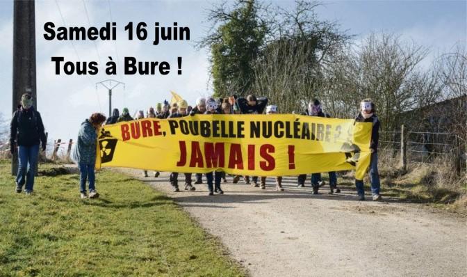 Pas de poubelle nucléaire ni à Bure ni ailleurs !